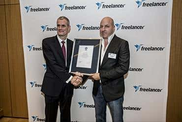 Press release image of Freelancer CEO