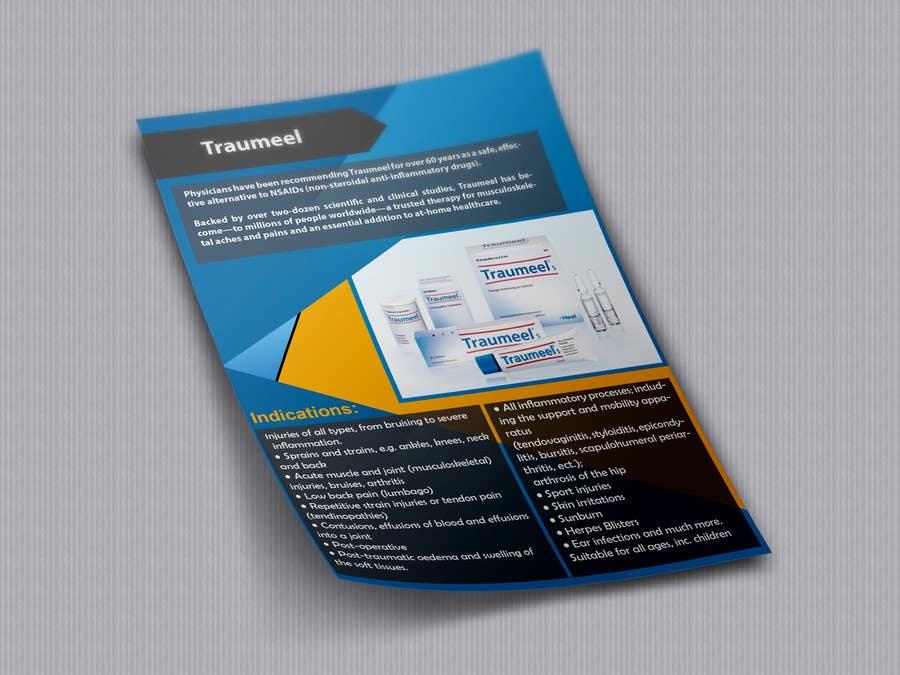 Proposition n°8 du concours Design a Product Flyer