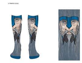 Nro 5 kilpailuun Need cool graphic design on socks. käyttäjältä tflbr