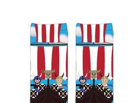 Nro 8 kilpailuun Need cool graphic design on socks. käyttäjältä tflbr