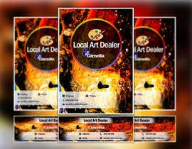 nº 7 pour Local Art Dealer Flyer par ArefinIslam02