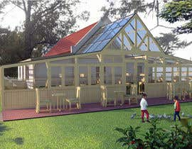 nº 37 pour 60q mts Greenhouse  idea design for restaurant in nice landscape make 2d and 3d . par acepcuyana
