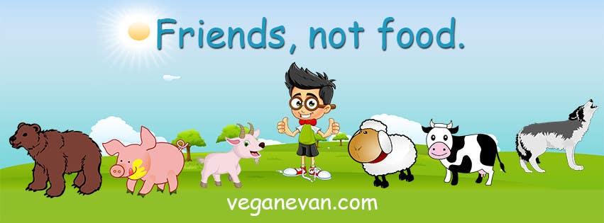 Proposition n°37 du concours VeganEvan Facebook Page Cover Photo Contest