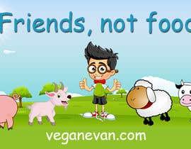 nº 37 pour VeganEvan Facebook Page Cover Photo Contest par SmPrime11