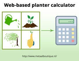nº 7 pour Web-based planter calculator promotional image par SmPrime11