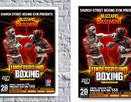 nº 33 pour Design a Poster for a Boxing Event on April 28 par atodorsky
