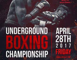 #51 for Design a Poster for a Boxing Event on April 28 by dabanzz