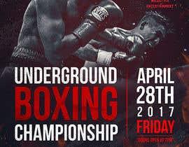 nº 51 pour Design a Poster for a Boxing Event on April 28 par dabanzz