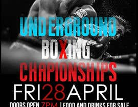 #3 for Design a Poster for a Boxing Event on April 28 by Lynx029