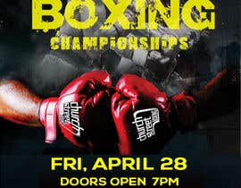 #23 for Design a Poster for a Boxing Event on April 28 by aminul1238