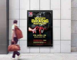 #28 for Design a Poster for a Boxing Event on April 28 by aminul1238