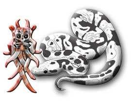 #8 para AROS Reptiles - Mask with a snake LOGO de mostafizur8285