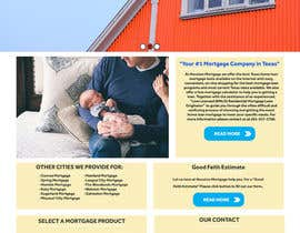 #37 for Design a Website Mockup - HOMEPAGE ONLY - Houston Mortgage by tonci29031989