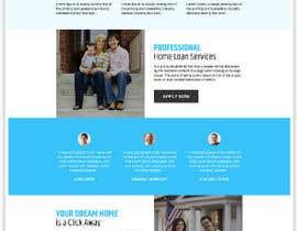 nº 19 pour Design a Website Mockup - HOMEPAGE ONLY - Houston Mortgage par mahwishnaz6