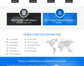 #31 for Design a Website Mockup - HOMEPAGE ONLY - Houston Mortgage by webplane8