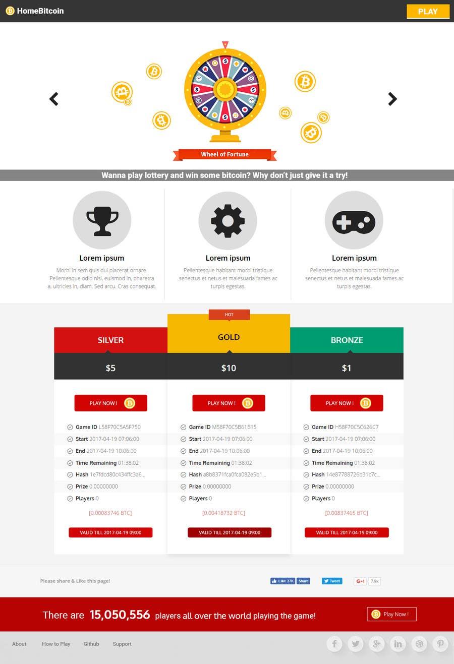 Proposition n°14 du concours logo + website design for lottery an easy task for a designer