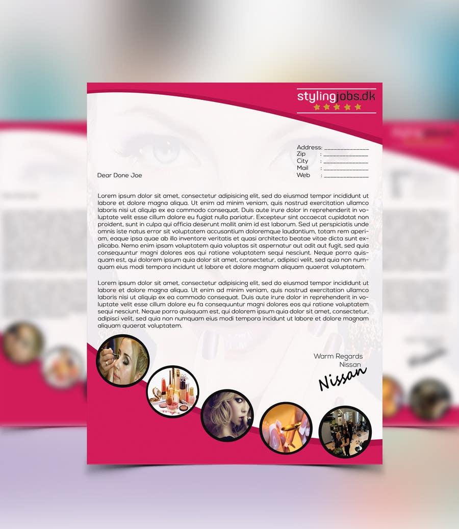 Proposition n°4 du concours A4 Letterhead Design