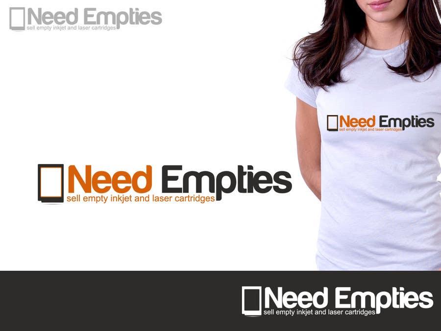 Inscrição nº                                         40                                      do Concurso para                                         Logo for Need Empties