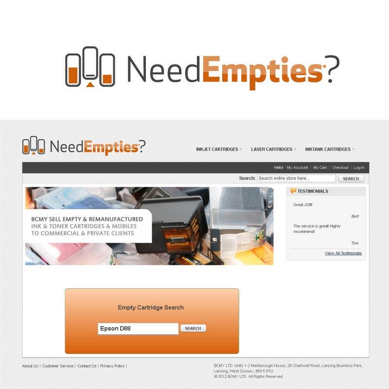 Inscrição nº                                         42                                      do Concurso para                                         Logo for Need Empties