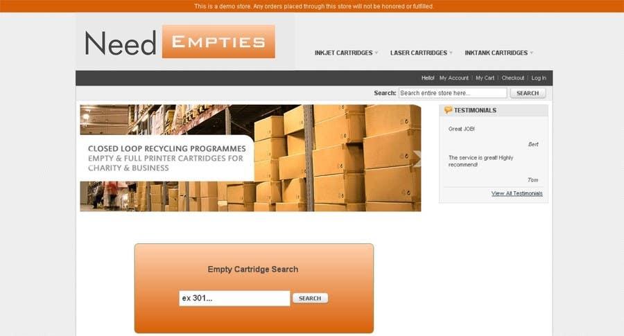 Bài tham dự cuộc thi #                                        9                                      cho                                         Logo for Need Empties
