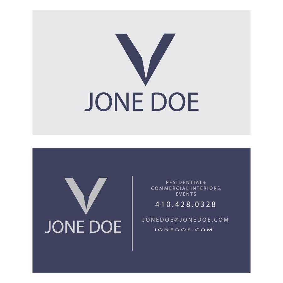 Contest Entry #781 for Design some Business Cards