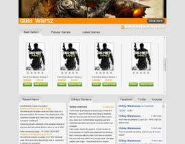 Nro 15 kilpailuun Website Design for CDKEY Warehouse for interspire shopping cart käyttäjältä kosmografic