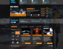 Nro 25 kilpailuun Website Design for CDKEY Warehouse for interspire shopping cart käyttäjältä hipnotyka