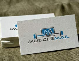 nº 239 pour Logo Design for MuscleMail - new UK fitness business par naharffk