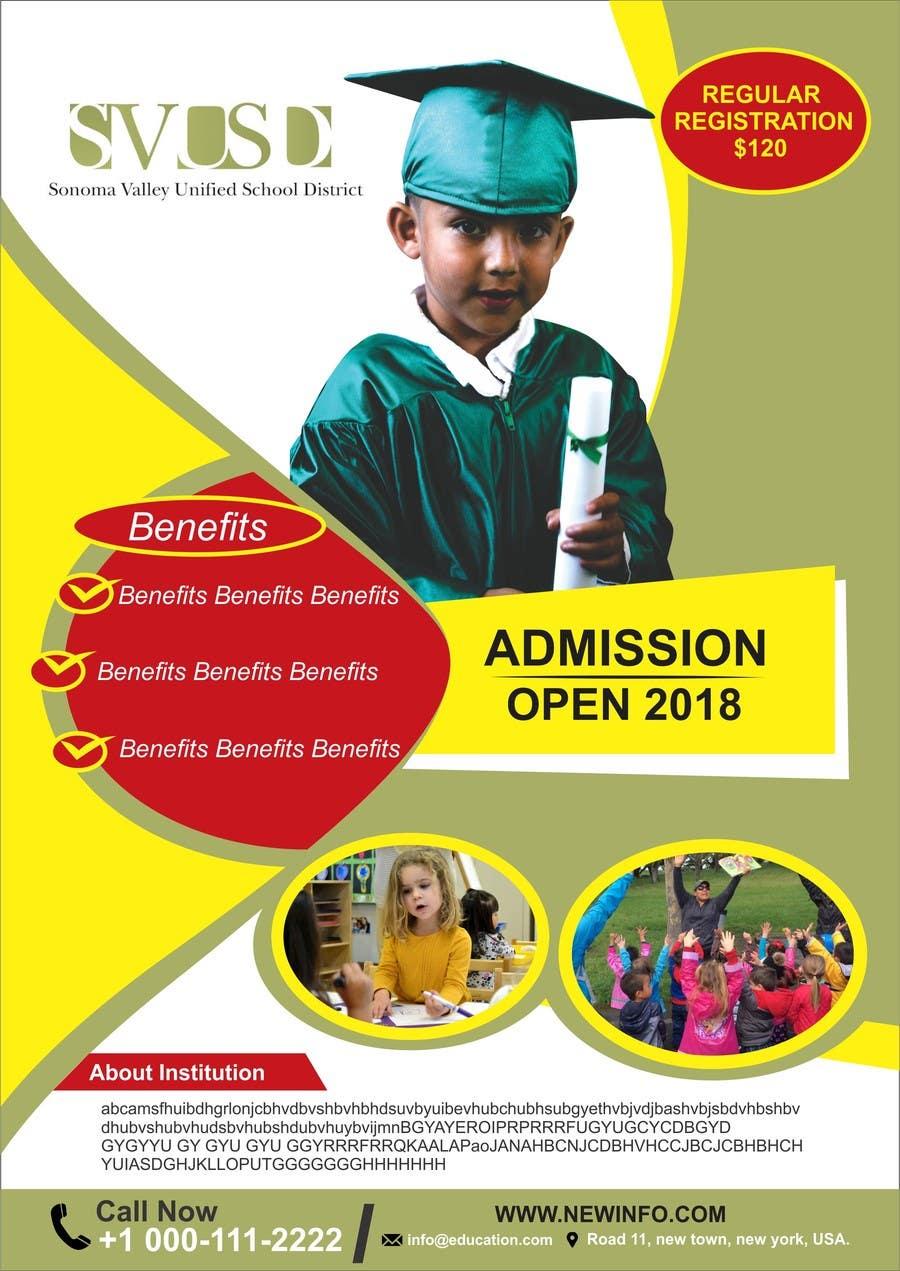 Proposition n°44 du concours Education Preschool and Kindergarten Registration Flyer