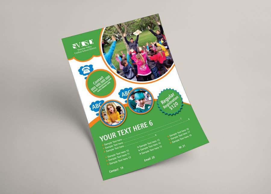 Proposition n°16 du concours Education Preschool and Kindergarten Registration Flyer