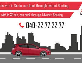 nº 16 pour Design Banners for a Cab Booking Portal par thmdesign
