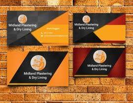 Nro 19 kilpailuun Logo and Business Cards for Plastering compnay käyttäjältä prolificgwd4