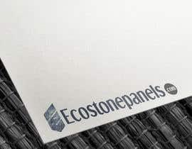 Nro 15 kilpailuun Logo for Ecostonepanels.com käyttäjältä Avinavkr