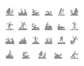 nº 2 pour Design Icon Set (Surf, Ocean, Coast Inspired) par nishant1997