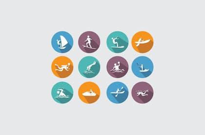 #5 for Design Icon Set (Surf, Ocean, Coast Inspired) by mhsarwar19