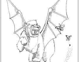 nº 17 pour Illustrate Gargoyle/Bear par pliiats