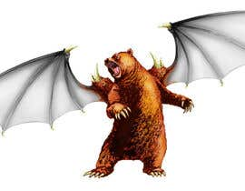 #25 for Illustrate Gargoyle/Bear by ecomoglio