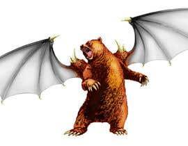nº 25 pour Illustrate Gargoyle/Bear par ecomoglio