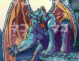 nº 22 pour Illustrate Gargoyle/Bear par GabSW