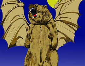 #20 for Illustrate Gargoyle/Bear by Raymondbrumant
