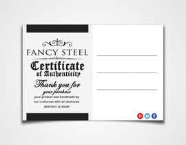 #2 for Design a warranty/thank you card for a new product by rizoanulislam