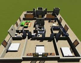 nº 51 pour Improving Floor Plan par reebk12