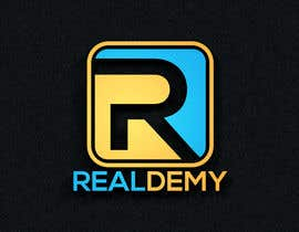 nº 280 pour Realdemy - Logo for mobile app - Real Estate Eucation Online par hossain987r