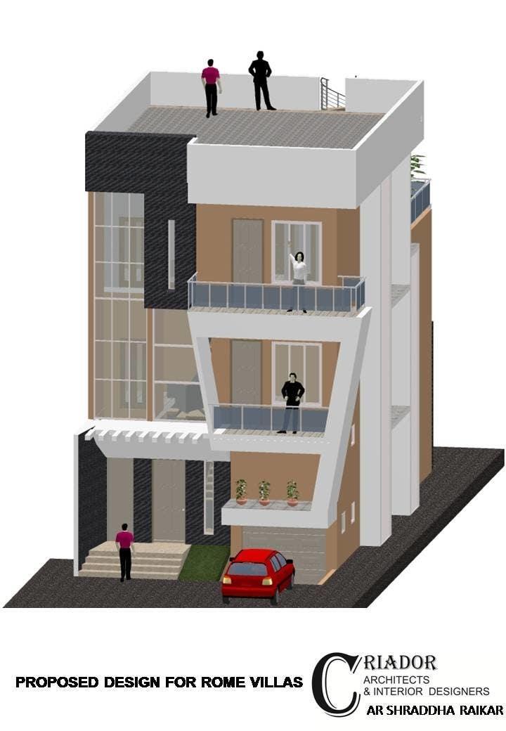 Proposition n°5 du concours Modern Concrete Townhome Design