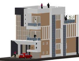 #6 for Modern Concrete Townhome Design by designershra