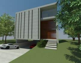 #9 for Modern Concrete Townhome Design by TamaraLogwiniuk