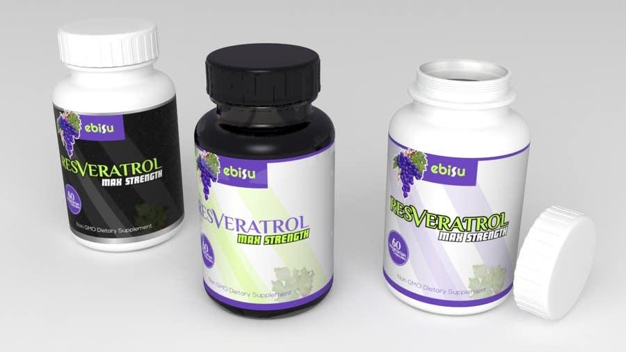 Proposition n°158 du concours Logo and Bottle Label Design for Vitamin Supplement