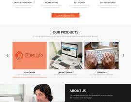 #9 for Design a Website Mockup by adixsoft