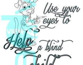 #10 cho Cartoon illustration for charity: Use your eyes to help a blind child bởi juls5