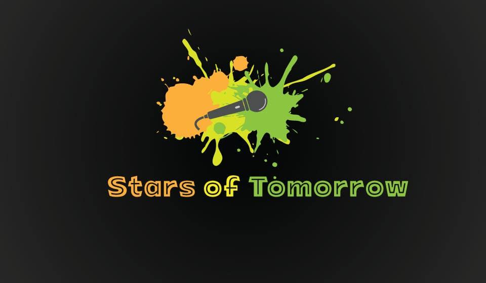 Kilpailutyö #                                        44                                      kilpailussa                                         Stars of Tomorrow - Logo